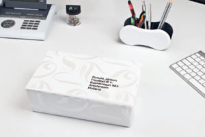 L7560-25 - Etichette trasparenti Lucide QuickPEEL - stampanti Laser - 63,5x38,1 - 25 ff