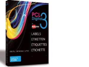 PCL3-MCBS Etichette carta patinata OPACA rifinita a macchina con retro taglio - SuperA3 -  320x450 mm.- 100 ff