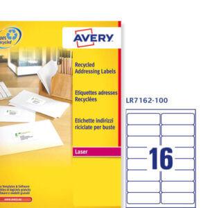 LR7162-100 etichette riciclate