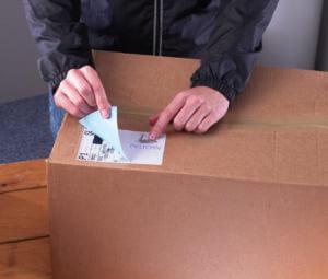 L7168-250 - Etichette bianche COPRENTI BLOCKOUT, certificate FSC - QuickPEEL - stampanti Laser - 199,6x143,5 - 250 ff