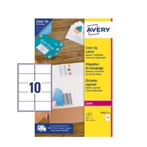 etichette carta coprente
